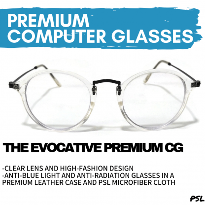 The Evocative Premium Clear Computer Glasses Philippines Main Banner