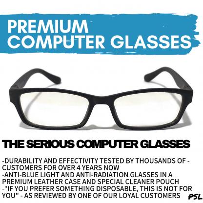 The Serious Anti Blue Light Glasses Main Photo