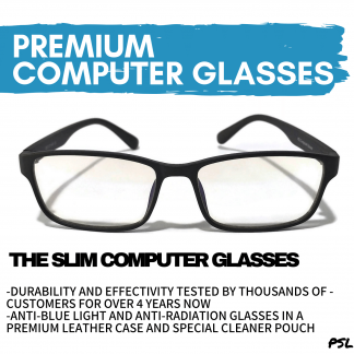 The Slim Anti Blue Light Computer Glasses Philippines PSL Main Banner