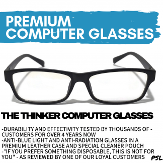 The Thinker Computer Glasses Anti Blue Light Philippines Main Banner