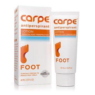 Carpe Foot Antiperspirant Packaging Philippines