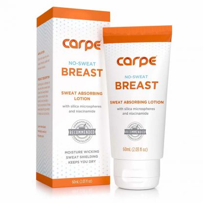 Carpe Breast Packaging and bottle