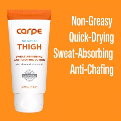 Non-Greasy Quick Drying Sweat Absorbing Anti Chaffing Carpe Thigh